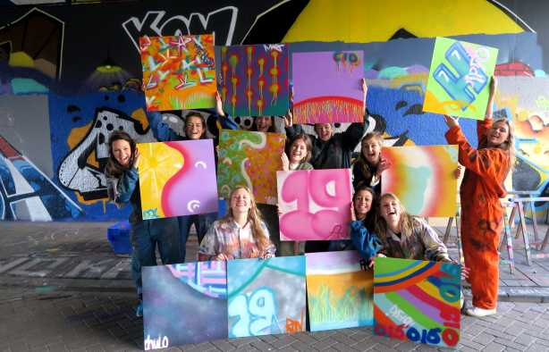 Foto 3: Maak je eigen Graffiti kunstwerk tijdens deze Street Art Experience!