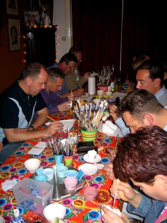 Foto 5: Workshop Servies Schilderen in Geldrop! Creatief en Ambachtelijk!