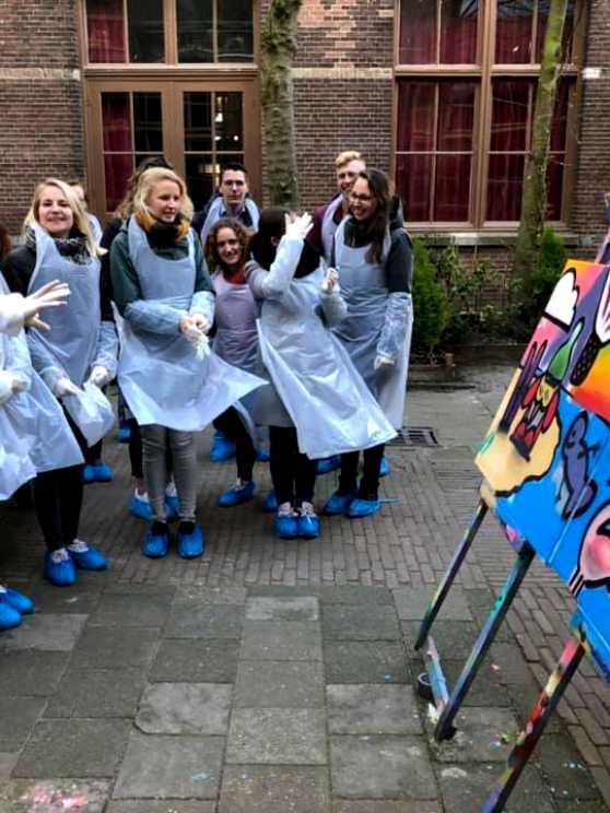 Foto 1: Graffiti Workshop in Leiden ervaren!