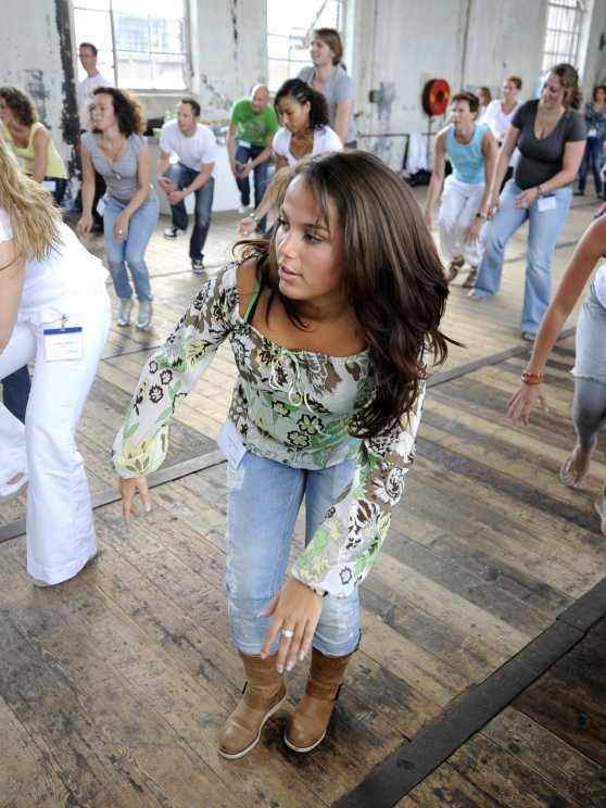 Foto 1: Heb jij ook zo'n zin om te dansen?