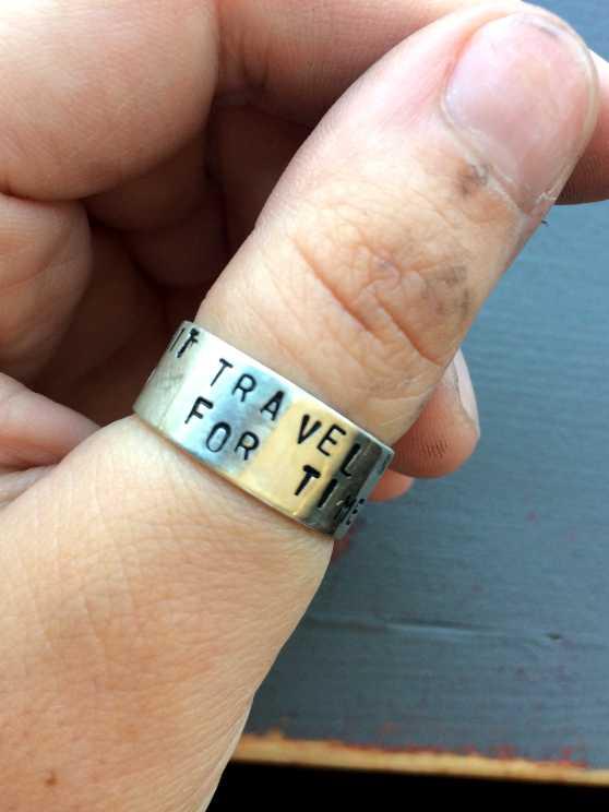 Foto 2: Workshop Zilveren Ring Met Bewerking