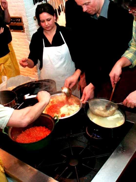 Foto 1: Workshop Italiaans Koken in een gezellige huiselijke sfeer
