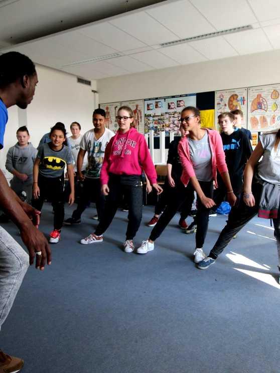 Foto 1: Zweet het uit tijdens deze energieke streetdance experience