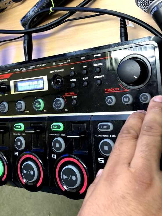 Foto 1: Maak muziek met een Loopstation