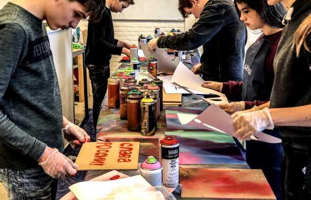 Foto 4: Graffiti Workshop