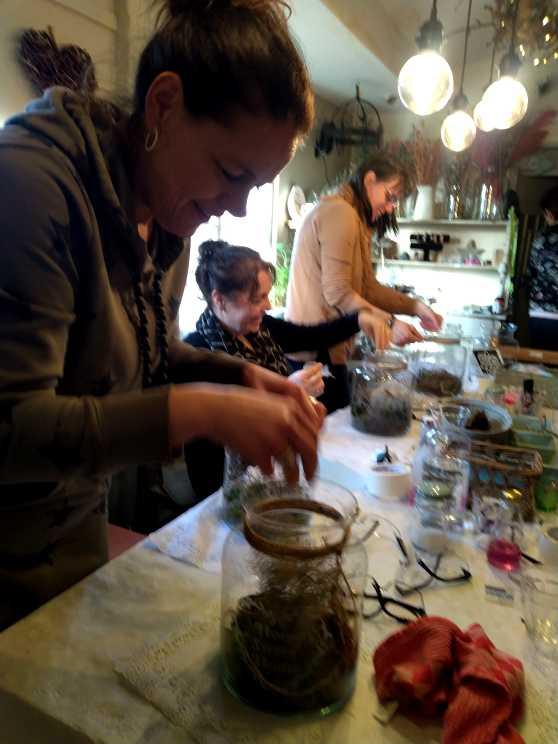 Foto 2: Workshop Glas Etsen - Maak je eigen voorraadpot of bloemenvaas