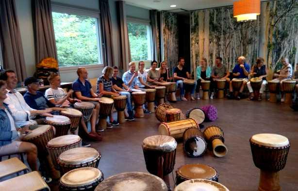 Foto 3: Swingende Workshop Afrikaanse Percussie