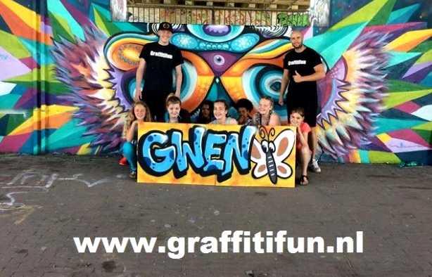 Foto 3: Graffiti Kinderfeestje (TIP)