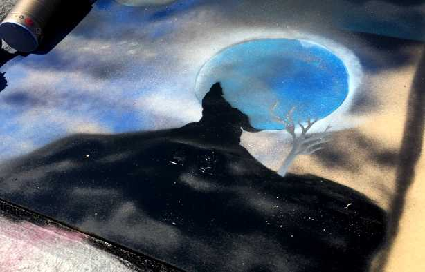 Foto 4: Ondek de eindeloze mogelijkheden van Stencil Art