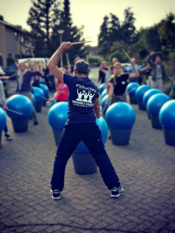 Foto 1: Drumble Dance - 100% drum- en dansplezier voor iedereen!