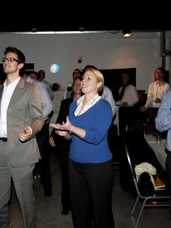 Foto 5: Workshop jongleren