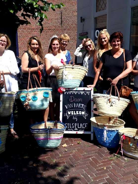 Foto 5: Workshop Ibiza Tas Maken in Tilburg  - Tover je tas om tot een eyecatcher