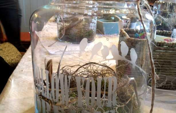 Foto 4: Workshop Glas Etsen - Maak je eigen voorraadpot of bloemenvaas