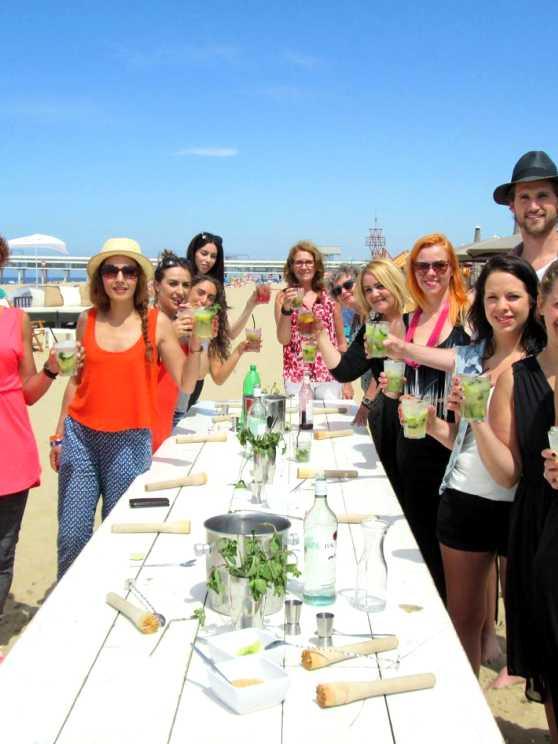 Foto 5: Meest gezellige Cocktail workshop aan het strand van Scheveningen