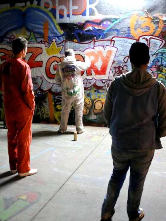 Foto 1: Leer online je eigen graffiti kunstwerk maken onder professioneel begeleiding van Jassin