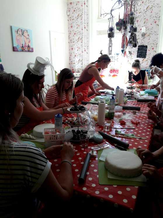 Foto 5: Workshop Taart Maken in Tilburg, Nijmegen of Oss