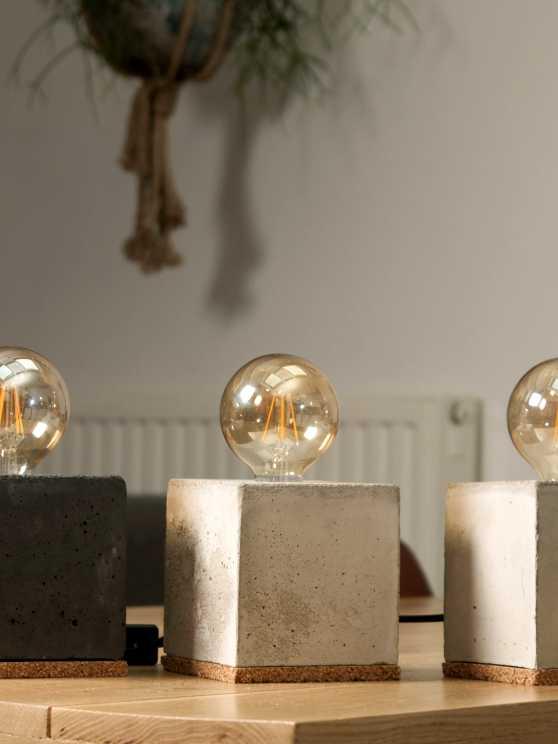 Foto 1: Maak je eigen vierkante Betonlamp