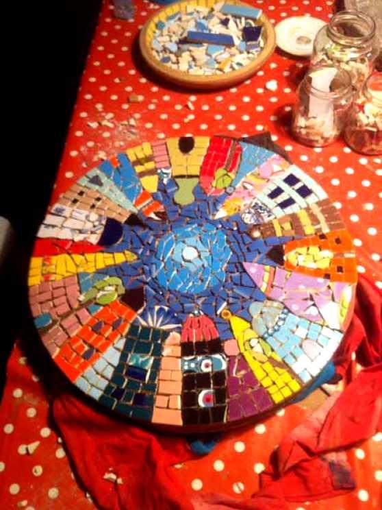Foto 2: Workshop Mozaïek Kinderfeestje Zwolle