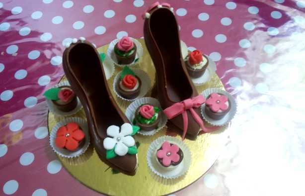 Foto 3: Chocolate Shoe & Bonbon Workshop