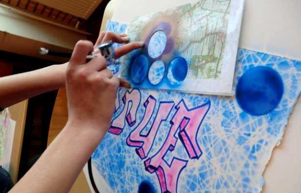Foto 4: Leer de vetste airbrush technieken en maak je eigen kunstwerk